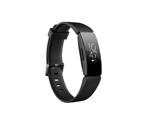 Fitbit - Inspire HR Activity Tracker + Heart Rate in Black