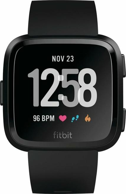 Fitbit - Versa Smartwatch in Black