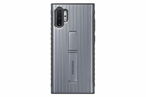 Samsung Galaxy Note10+ Case, Rugged Drop Protection Cover - Silver EF-RN975CBEGUS