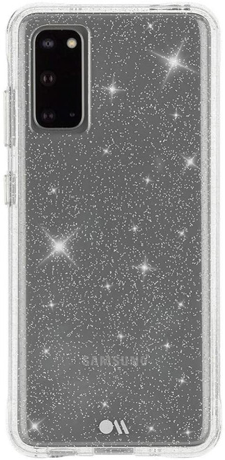Case-Mate - Samsung Galaxy S20 Sparkle Case - SHEER CRYSTAL