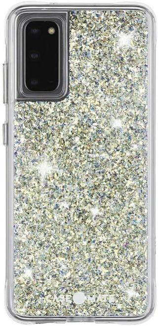 Case-Mate - Samsung Galaxy S20 Case - TWINKLE - Reflective Iridescent Glitter Foil Stardust