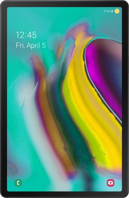 """Samsung - Galaxy Tab S5e - 10.5"""" - 64GB - Wi-Fi + 4G LTE Carrier - Black"""