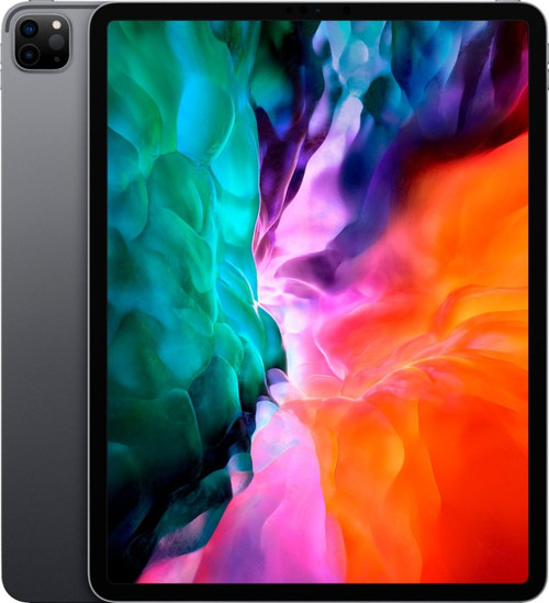 Apple - 12.9-Inch iPad Pro (2020 edition) with Wi-Fi Space Gray
