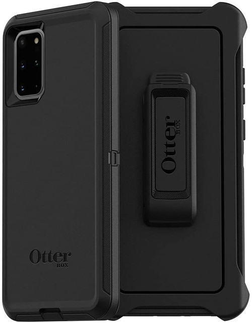OtterBox DEFENDER SERIES SCREENLESS EDITION Case for Galaxy S20+ plus Black