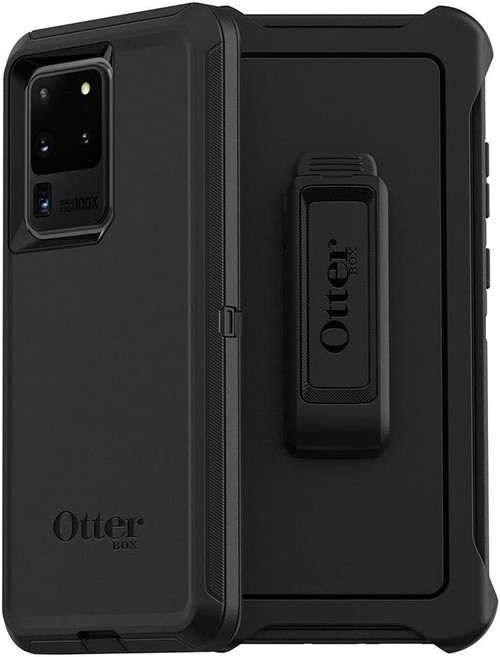 OtterBox DEFENDER SERIES Case for Galaxy S20 Ultra/Galaxy S20 Ultra Black