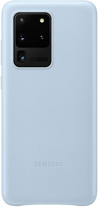 Samsung Leather Cover Case - Galaxy S20 Ultra in Blue