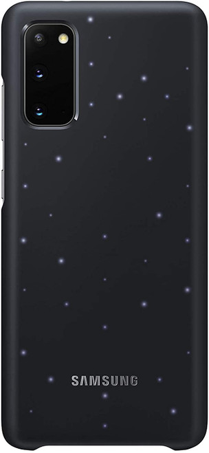 Samsung LED Back Cover Case - Samsung Galaxy S20/Galaxy S20+ in Black