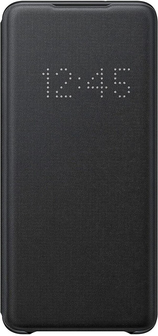 Samsung LED Wallet Cover Case - Galaxy S20/Galaxy S20+ in Black