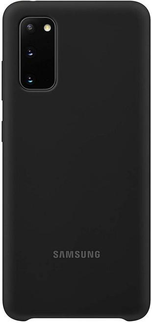 Samsung Silicone Case - Samsung Galaxy S20/Samsung galaxy S20+ in Black