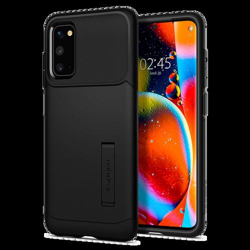 Spigen Samsung Galaxy S20 Case -Slim Armor in Black