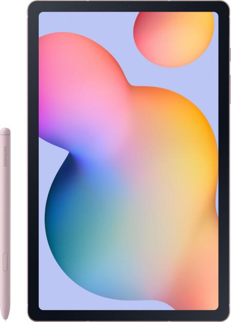 "Samsung Galaxy Tab S6 Lite SM-P615 128GB ( Unlocked) 10.4"" Wi-Fi + 4G Chiffon Rose"