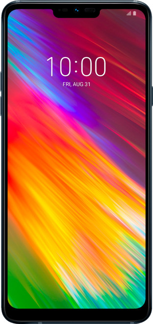 LG - G7 fit™ with 32GB Cell Phone LM-Q850QM (Unlocked) -  Black