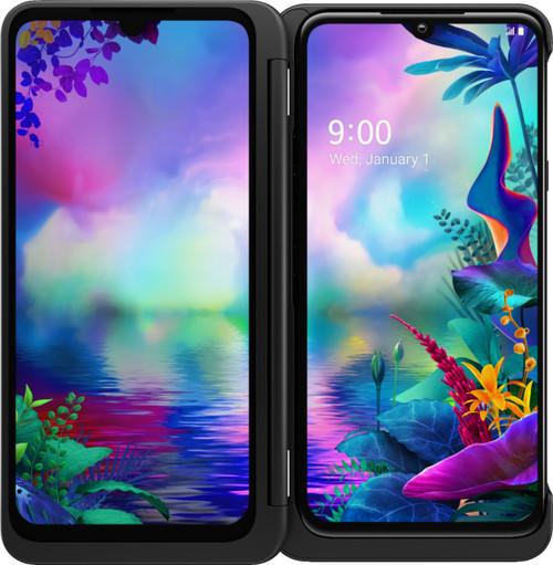 LG - G8X ThinQ Dual Screen with 128GB Memory Cell Phone (Unlocked) - Black