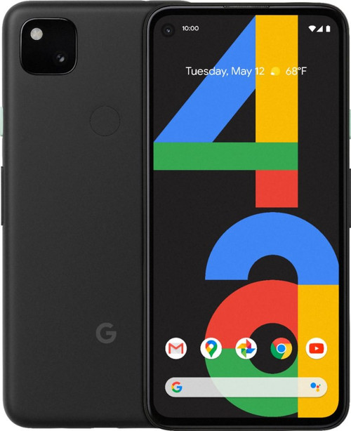 Google Pixel 4a 6GB RAM 128GB Unlocked Just Black  GA02099-US