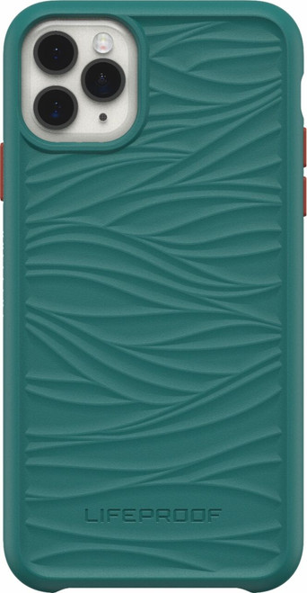 LifeProof - WAKE Case for Apple iPhone 11 Pro Max  BLACK DOWN UNDER (GREEN/ORANGE)