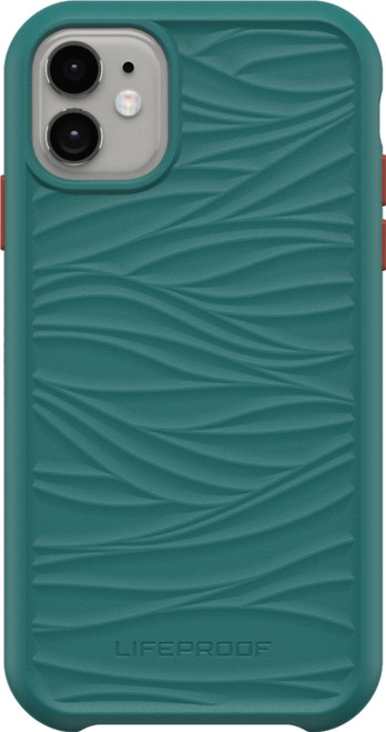 LifeProof - WAKE Case for Apple iPhone XR/iPhone 11 DOWN UNDER (GREEN/ORANGE)