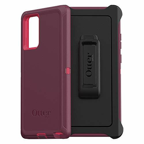 OtterBox Defender Series SCREENLESS Edition Case for Galaxy Note 20 5G Raspberry Wine/Boysenberry