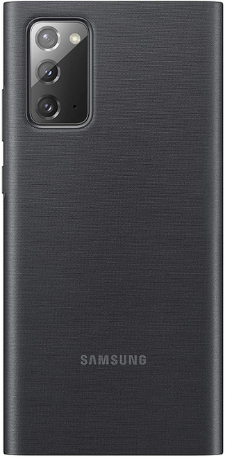 Samsung Galaxy Note20 5G Case, S-View Flip Cover - Black