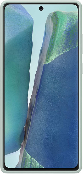 Samsung Galaxy Note20 5G Case, Silicone Back Protective Cover - Mint