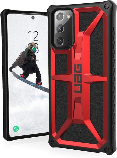 Urban Armor Gear Monarch Case for Samsung Note20 5G Crimson