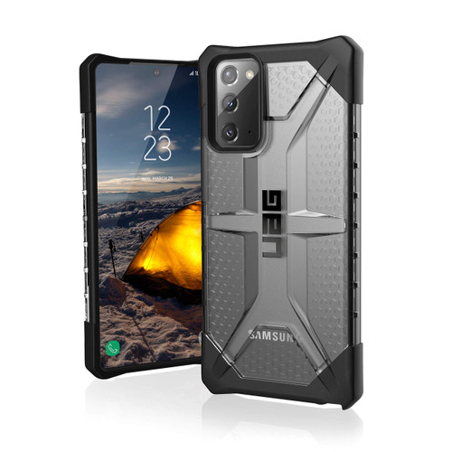 Urban Armor Gear UAG Plasma Case Compatible with Samsung Galaxy Note20 5G in Ice
