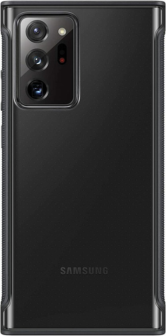 Samsung Galaxy Note20 Ultra 5G Case, Clear Protective Cover Black