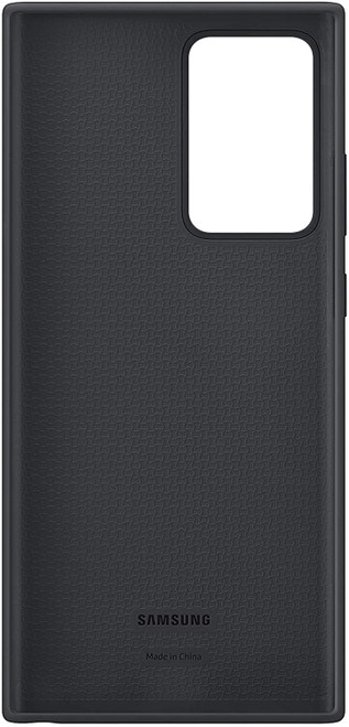 Samsung Galaxy Note20 Ultra 5G Case, Silicone Back Protective Cover Black