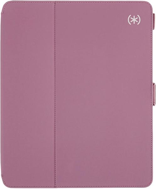 Speck Balance Folio iPad Pro 12.9-Inch Case (2018/2020),  (3rd/4th generation) Plumberry Purple/Crushed Purple/Crepe Pink