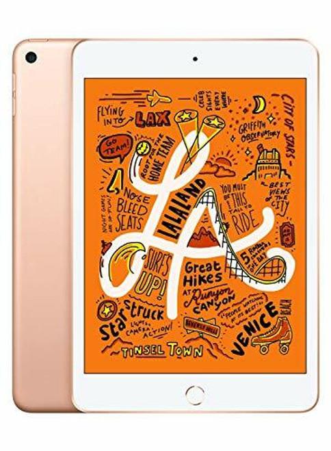 """Apple iPad mini  5th Generation 7.9"""" Tablet, Gold"""