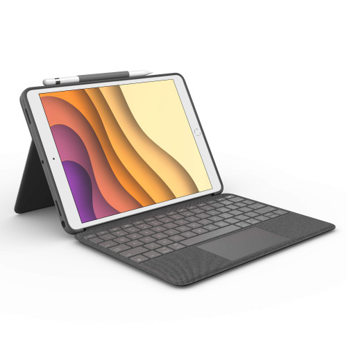 Logitech Combo Touch for iPad Air (3rd Generation) and iPad Pro 10.5-inch Keyboard case Graphite