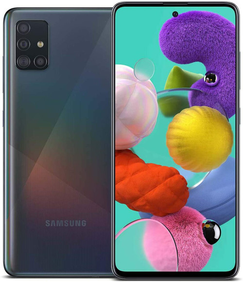 Samsung Galaxy A51 128GB 6GB RAM SM-A515F/DSN Dual Sim (FACTORY UNLOCKED) Black
