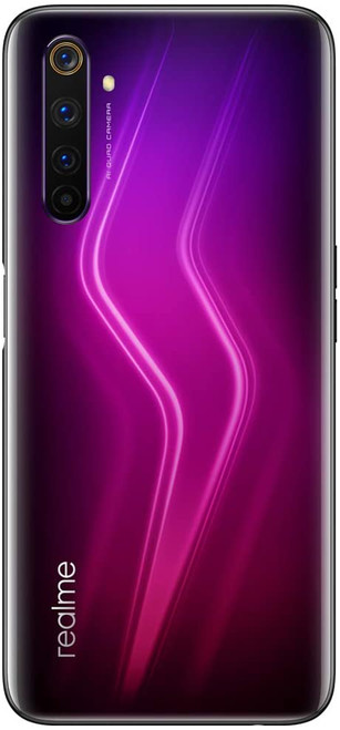 Realme 6 Pro (128GB, 8GB) GSM Unlocked Global 4G LTE Lightning Red