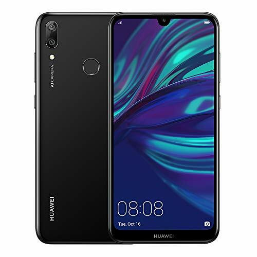 Huawei Y7 2019 32GB Unlocked GSM LTE Android Phone w/Dual 13MP+2MP Camera Black
