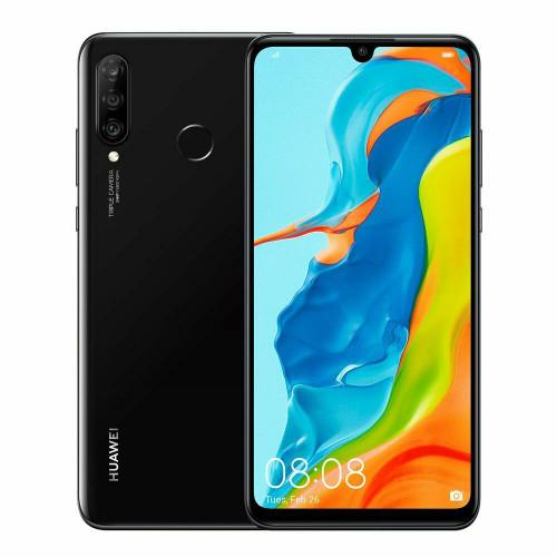 Huawei P30 Lite 128GB 4GB RAM MAR-LX1A Dual Sim UNLOCKED Smartphone in Black