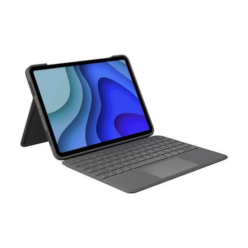 Logitech Folio Touch iPad Keyboard Case with Trackpad and Smart Connector for iPad Pro 11-inch – Grey