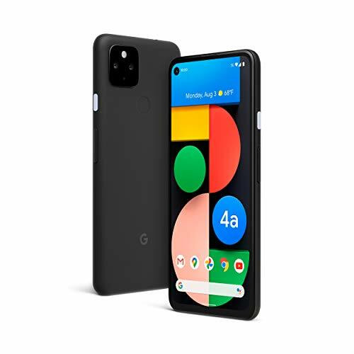 Google - Pixel 4a 5G 128GB (Unlocked) - Just Black GA02293-US