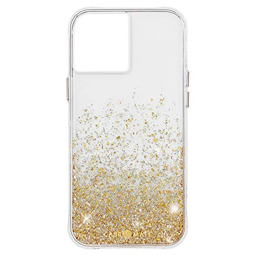 Case-Mate Twinkle Ombre Case for iPhone 12 and iPhone 12 Pro Gold