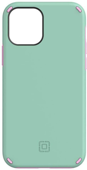 Incipio Duo Case for iPhone 12 & iPhone 12 Pro Candy Mint/Pink