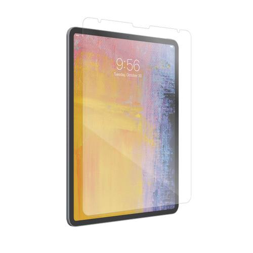 Protector de pantalla de vidrio templado ZAGG InvisibleShield Glass Plus para Apple iPad Pro de 12,9 pulgadas en transparente