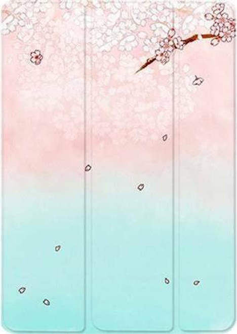 "SaharaBasics Folio Case for Apple iPad Air 10.5"" (3rd Generation 2019) Aqua Pink"