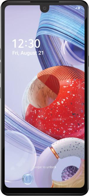LG - Stylo 6 64GB (Unlocked) - White (LMQ730QM7.AUSAWH
