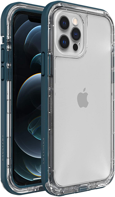 LifeProof Next DustProof and Snowproof Case for Apple iPhone 12 Clear Lake