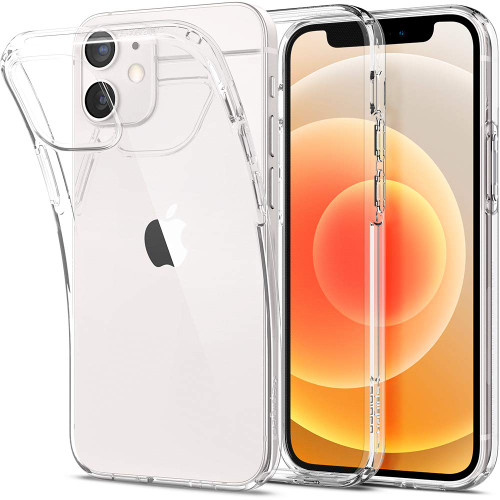 Spigen Liquid Crystal Designed for iPhone 12 Mini Case in Crystal Clear