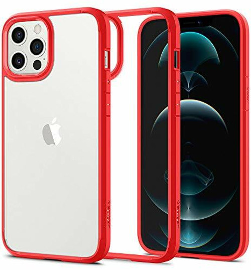 Spigen Ultra Hybrid Designed for iPhone 12 Pro Max Case Red