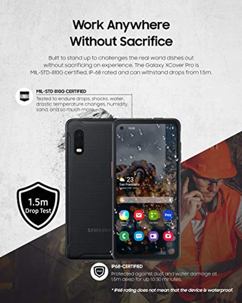 Samsung Galaxy XCover Pro Desbloqueado Dual Sim 64GB Negro
