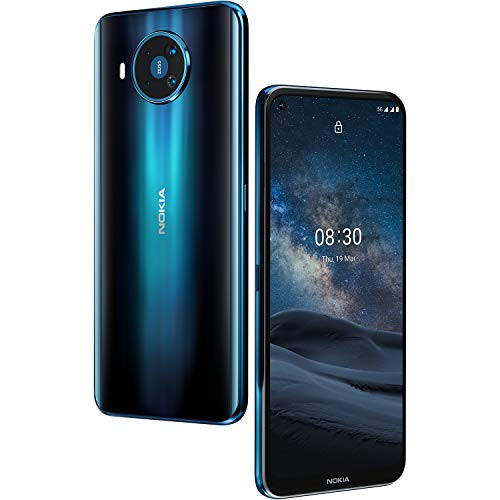 Nokia 8.3 5G Unlocked Smartphone with 8/128 GB Memory Dual SIM,6.81-Display Polar Night