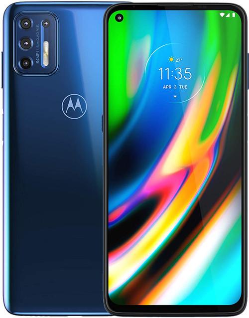 Motorola Moto G9 Plus XT2087-2 128GB 6GB RAM Dual Sim Blue