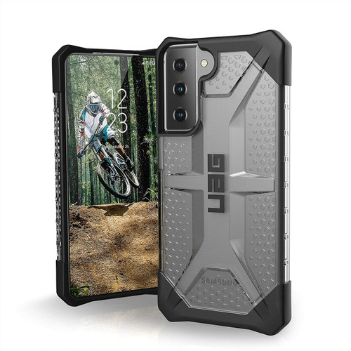 URBAN ARMOR GEAR UAG Plasma Case Designed for Samsung Galaxy S21/S21+/S21 Ultra Ice