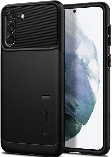 Spigen Slim Armor Case for Samsung Galaxy S21/S21+ Black