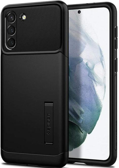 Spigen Slim Armor Case for Samsung Galaxy S21/S21+ Black